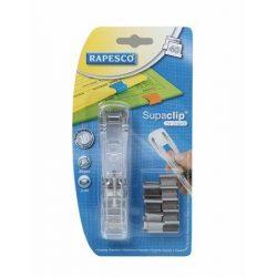 """Kapocsadagoló, RAPESCO, """"Supaclip"""" ezüst kapcsokkal (IRRC4025SS)"""