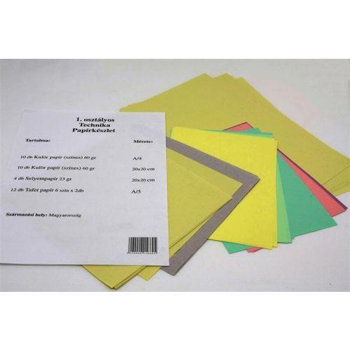 Technika tasak 1.o. (technika papírkészlet)