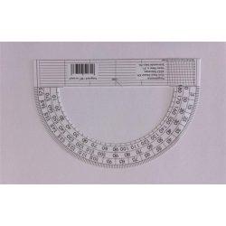 Szögmérő, papír, 180 fokos (ISKE148)
