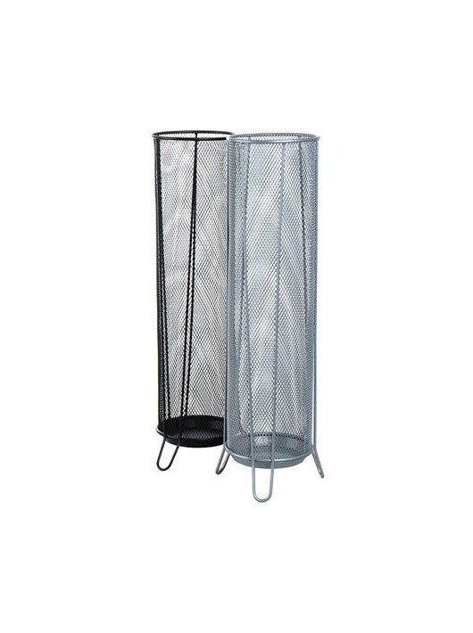 Esernyőtartó, fémhálós, VICTORIA, fekete (IVIC09)
