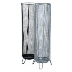 Esernyőtartó, fémhálós, VICTORIA, ezüst (IVIC58)