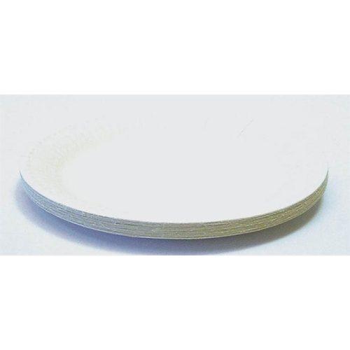 Papírtányér, kerek, 18 cm átmérő