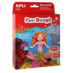 "Gyurma, APLI, ""Fun Dough"", tenger világa (LCA13971)"