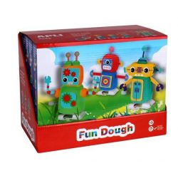"Gyurma, APLI, ""Fun Dough"", display, sétáló robotok (LCA13982)"
