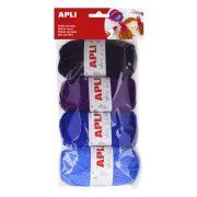 """Gombolyag készlet, APLI """"Kids"""", tenger színei (LCA14092)"""