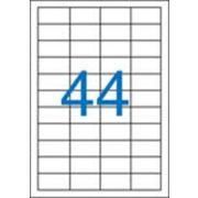 Etikett, univerzális, 48,5x25,4 mm, VICTORIA, 4400 etikett/csomag (LCV11366)