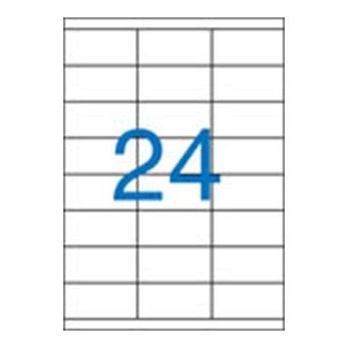 Etikett, univerzális, 70x35 mm, VICTORIA, 2400 etikett/csomag (LCV11368)