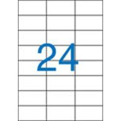 Etikett, univerzális, 70x37 mm, VICTORIA, 2400 etikett/csomag (LCV11369)