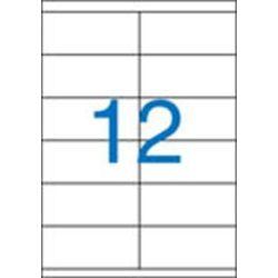 Etikett, univerzális, 105x48 mm, VICTORIA, 1200 etikett/csomag (LCV11373)