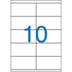Etikett, univerzális, 105x57 mm, VICTORIA, 1000 etikett/csomag (LCV11374)