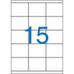 Etikett, univerzális, 70x50,8 mm, VICTORIA, 1500 etikett/csomag (LCV11380)