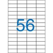 Etikett, univerzális, 52,5x21,2 mm, VICTORIA, 5600 etikett/csomag (LCV11384)