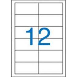 Etikett, univerzális, 97x42,4 mm, VICTORIA, 1200 etikett/csomag (LCV11389)
