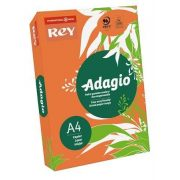 """Másolópapír, színes, A4, 80 g, REY """"Adagio"""", intenzív narancssárga (LIPAD48IN)"""