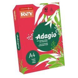 """Másolópapír, színes, A4, 80 g, REY """"Adagio"""", intenzív piros (LIPAD48IP)"""