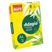 """Másolópapír, színes, A4, 80 g, REY """"Adagio"""", intenzív sárga (LIPAD48IS)"""