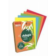 """Másolópapír, színes, A4, 80 g, 5x100 lap, REY """"Adagio"""", intenzív mix (LIPAD48IX)"""