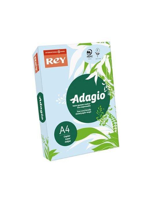 """Másolópapír, színes, A4, 80 g, REY """"Adagio"""", pasztell kék (LIPAD48PK)"""