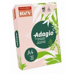 """Másolópapír, színes, A4, 80 g, REY """"Adagio"""", pasztell rózsaszín (LIPAD48PR)"""
