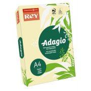 """Másolópapír, színes, A4, 80 g, REY """"Adagio"""", pasztell sárga"""