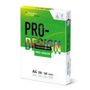 Másolópapír, digitális, A4, 160 g, PRO-DESIGN office