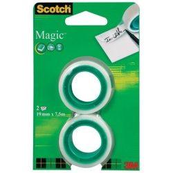 """Ragasztószalag, 19 mm x 7,5 m, 3M SCOTCH """"Magic tape 810"""""""