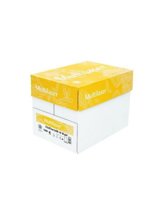 Másolópapír, A4, 80 g, MULTILASER (LSML480) office