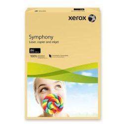 """Másolópapír, színes, A4, 160 g, XEROX """"Symphony"""", vajszín (közép) (LX92305)"""