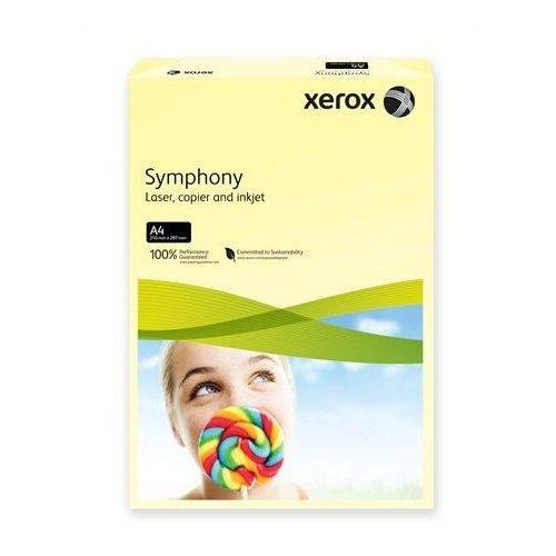 """Másolópapír, színes, A4, 160 g, XEROX """"Symphony"""", világossárga (pasztell) (LX93231)"""