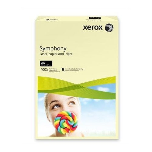 """Másolópapír, színes, A4, 80 g, XEROX """"Symphony"""", csontszín (pasztell) (LX93964)"""