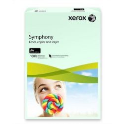 """Másolópapír, színes, A4, 80 g, XEROX """"Symphony"""", világoszöld (pasztell) (LX93965)"""