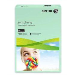 """Másolópapír, színes, A4, 80 g, XEROX """"Symphony"""", zöld (közép) (LX93966)"""