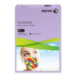 """Másolópapír, színes, A4, 80 g, XEROX """"Symphony"""", lila (közép) (LX93969)"""