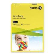 """Másolópapír, színes, A4, 160 g, XEROX """"Symphony"""", sötétsárga (intenzív) (LX94275)"""
