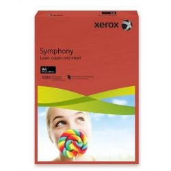 """Másolópapír, színes, A4, 160 g, XEROX """"Symphony"""", sötétpiros (intenzív) (LX94278)"""
