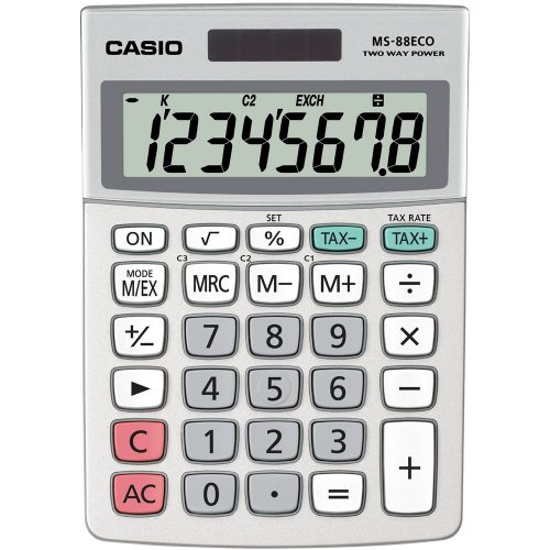CASIO MS 88ECO asztali számológép
