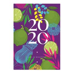 """Naptár 2020, tervező, B6, heti, TOPTIMER, """"Joy flexi"""", lime"""