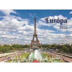 """Naptár 2020, fali, TOPTIMER, """"Európa"""""""