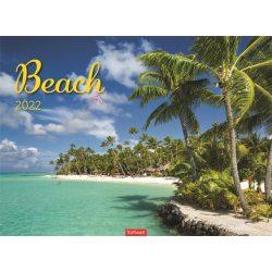 "Naptár 2020, fali, TOPTIMER, ""Beach"""