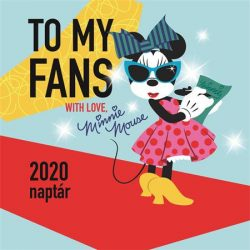 "Naptár 2020, fali, TOPTIMER, ""Minnie"""