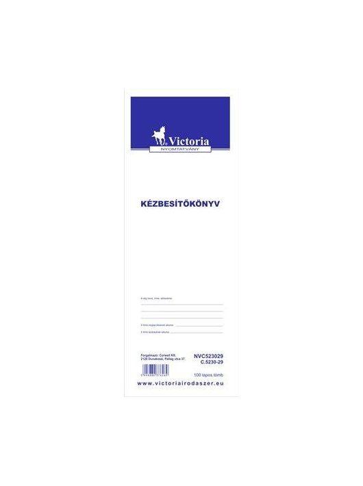 """Nyomtatvány, kézbesítőkönyv, 100 lap, , """"C.5230-29"""" (NVC523029)"""