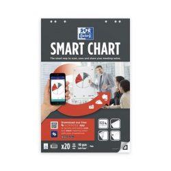 "Flipchart papír, 65x98 cm, 20 lap, OXFORD, ""Smart Chart"""