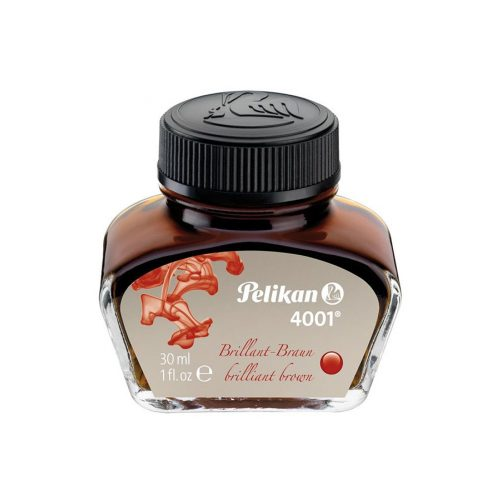 Pelikan Tinta üvegben 30 ml barna