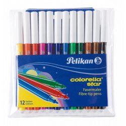 Colorella Star C302-es filctoll, 12 szín