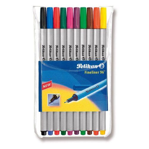 Pelikan Fineliner 96 tűfilc készlet, 10 db