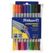 Colorella Twin C304-es dupla filctol 20 szín 10 tollban