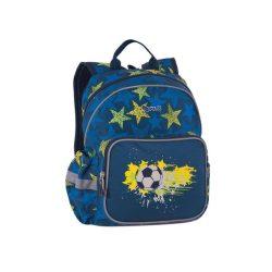 """Hátizsák, PULSE """"Junior Football Star"""", kék-sárga (PLS121116)"""
