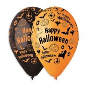 "Léggömb, 30 cm, ""Happy Halloween"""
