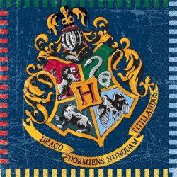 """Szalvéta, 2 rétegű, 33x33 cm, """"Harry Potter"""""""