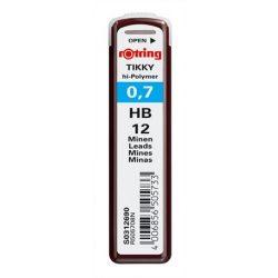 Grafitbél, HB, 0,7 mm, ROTRING